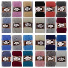 *NEU* Alize Lanagold Fine - 25 Farben zur Auswahl -stricken-häkeln -100g-390m