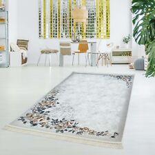 Druckteppich Waschbar Teppich Küche Rose Rosen Flachflor Dünn Polyester 130x200