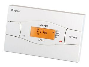 Drayton LP711 Timeswitch electronic 7day timeswitch - VAT RECEIPT