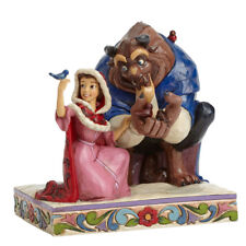 Jim Shore Something There Belle Beauty Beast in Winter 4039075 Disney Traditions