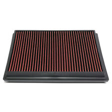 Fit 15-18 Toyota Hilux Revo/Fortuner Hi-Flow Drop-In Panel Dry Air Filter Red