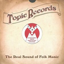 TOPIC RECORDS-REAL SOUND OF FOLK MUSIC  2 CD NEW+
