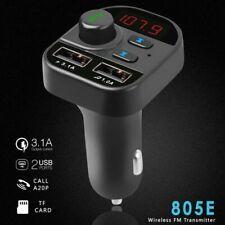 New Car Wireless Bluetooth 5 Handsfree Kit FM Transmitter Car MP3 Radio Adapter
