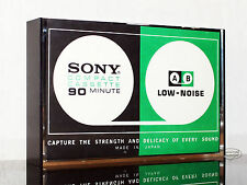 SONY C 90 A_B aus 1972 Typ I normal position audio MC Kassetten tape cassette