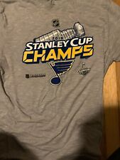 St Louis Blues 2019 Stanley Cup Champions Shirt Size Large