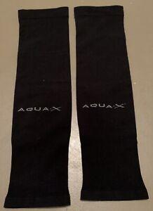 Gamsung Aqua-X Ice Skin + UV Cut Cool Wristlets - Black