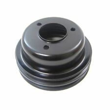 Racing Power Company R8974B Ford 289 2-Groove Crank shaft Pulley Black