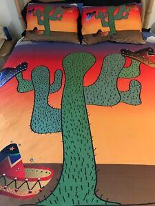 Cactus Comforter SET   Queen Size