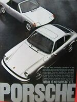 "1974 Porsche 914 2.0 &  911 Targa Original Print Ad 8.5 x 11""!!"