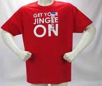 GET YOUR JINGLE ON T Shirt Extra Large XL tshirt RED New With Tag Mens