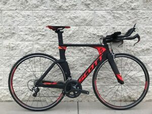 Scott Plasma 10 2017 Carbon Time Trial Bike Black Small/51cm
