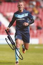 MIDDLESBROUGH: VIKTOR FISCHER SIGNED 6x4 ACTION PHOTO+COA