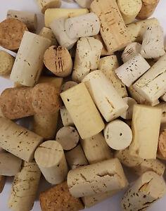 Korken-Bastel-Set - 600 Flaschenkorken in verschiedenen Abmessungen DIY vegan