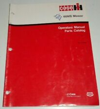 Case Ih 60Ms Mower (for 235 Tractors) Operators & Parts Manual Catalog Book