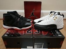 Air Jordan Collezione 11 12 XI XII BRED Taxis 2008 Countdown Pack CDP sz 10 DS