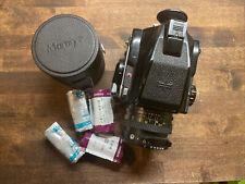 New listing Mamiya M645 1000s W/ Sekor 70mm f2.8 Lens Prism Finder Medium Format W/ Film!