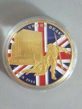 Normandy Sword beach 65th Commemorative Coin still in case