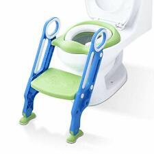 ADOVEL Riduttore WC per Bambini Ergonomico Con Schienale Alto, Baby training WC