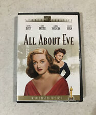 All About Eve Dvd Studio Classics 1950 Best Picture Winner