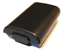 XBOX 360 WIRELESS BLACK CONTROLLER REPLACEMENT BATTERY BOX UK Seller