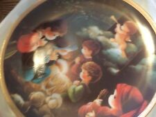Precious Moments Bible Story Plate Collection. Come Let Us Adore Him. 8 Inches