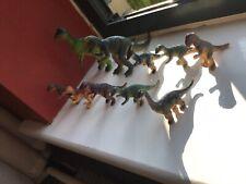Vintage Dinosaur figures Prehistoric Rare Toys VGC x 10