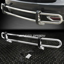 FOR 09-16 TOYOTA VENZA STAINLESS STEEL DOUBLE BAR REAR BUMPER PROTECTOR GUARD