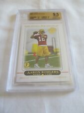 2005 Topps FB 1ST EDITION #431 Aaron Rodgers Green Bay Packers RC BGS 9.5 !!!!