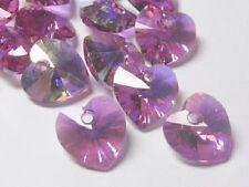 Jewellery Making Heart Crystal & Cut Glass Craft Beads