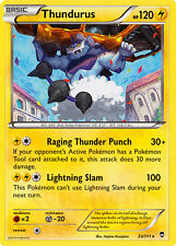 1X Pokemon Furious Fists Thundurus 33/111 Rare Card