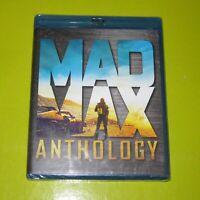 BLU-RAY.- MAD MAX ANTHOLOGY - IMPORTACION - 5 DISCOS - AUDIO ESPAÑOL -PRECINTADA