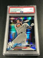 GLEYBER TORRES 2018 TOPPS CHROME #31 PRISM REFRACTOR ROOKIE RC PSA 9 YANKEES (A)