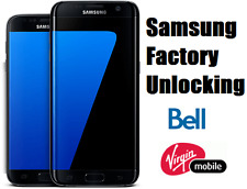 Bell/Virgin Samsung Unlock Code  - Galaxy S7,S6,S5,S4,Edge,Note,Core,Alpha,Neo