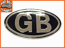 METAL GB Badge Emblema Self Adesivo Auto Classica, Kit auto Hot Rod