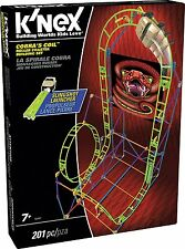 K'Nex Cobras Coil Roller Coaster Building Set (Multi-Colour)