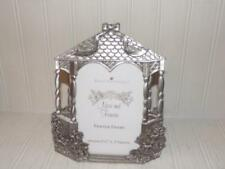 Papel Giftware Pewter Frame Now and Forever - Gazebo Ribbon Floral