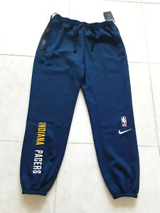 NWT! Nike NBA Indiana Pacers Engineered Pants Therma-Flex CN3970-419 Size-Large