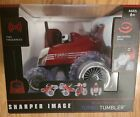 SHARPER IMAGE RED RC 360 RALLY CAR TURBO TUMBLER STUNT VEHICLE 49 MHz NEW