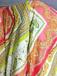 Echo Laiha Medallion Pink Mint Green Full / Queen  92X96 Comforter  2 Shams