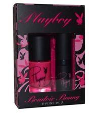 Playboy Boudoir Bunny Divine Duo Nail Polish & Lipstick Set - Pink BNIB