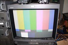 """Sony Trinitron PVM-20M2U 19"""" CRT RGB Monitor"""