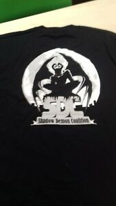 Shadow Demon Coalition T-Shirt Black XXL NEW RARE STOCK FIND