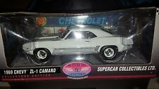 1/18 HIGHWAY 61 SUPERCAR COLLECTIBLES 1969 CHEVY ZL-1 WHITE