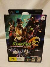 Nintendo Wii U Star Fox Zero First Print Limited Edition Includes Steel Book