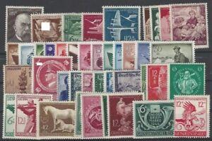 Deutsches Reich aus 1944 ** postfrisch MiNr. 864-906 kompletter Jahrgang