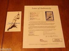 Ted Williams Signed Thumper Inc. Artwork Postcard - FULL JSA LETTER - B57521