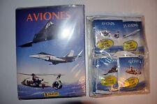 ALBUM DE CROMOS AVIONES + 48 SOBRES + 24 FIGURAS + AEROPUERTO DE PANINI STICKERS