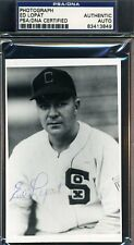 ED LOPAT SIGNED PSA/DNA CERTIFIED PHOTO AUTHENTIC AUTOGRAPH