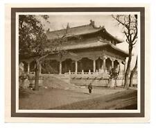 1915-20 Vandyke Photogravure The Yellow Temple, China by Donald Mennie