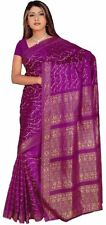 Violet Bollywood Carnaval Sari Orient Inde ca102